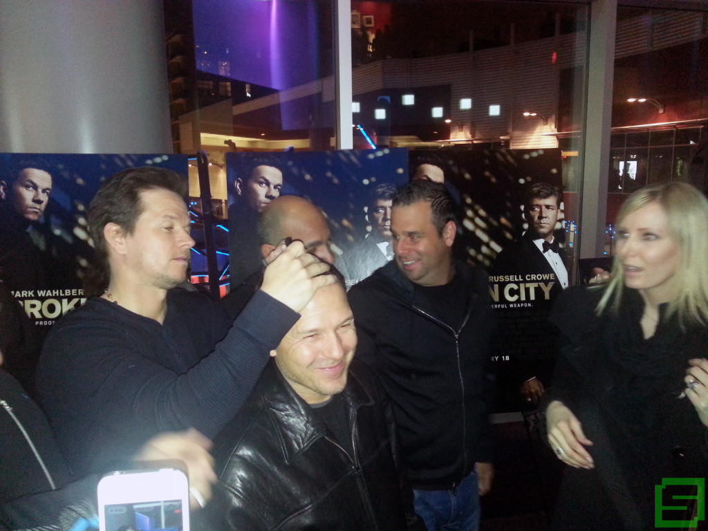 Mark Wahlberg @ Broken City Advance Screening in Chicago